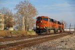 BNSF 7242 Leads another z train WB into Town.